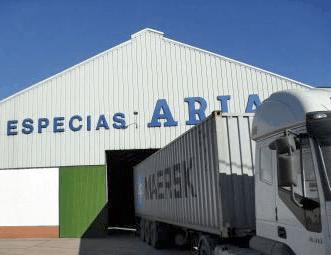 camión de especias arias