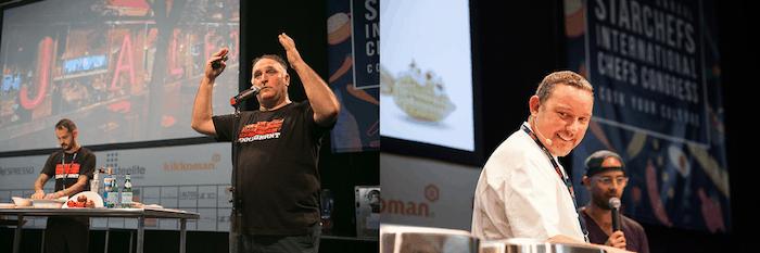 Jose Ándres y Albert Adrià chefs españoles referentes a nivel mundial