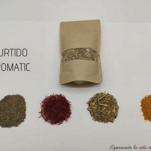 surtido aromatic de especias arias