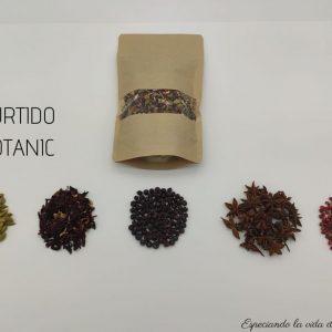 surtido botanic de especias arias
